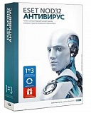 ESET NOD32 Smart Security Family на 3 ПК / 1 год